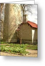 Evanston Illinois Lighthouse In Spring Greeting Card