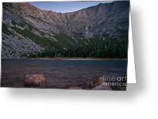 Evening At Chimney Pond  Greeting Card