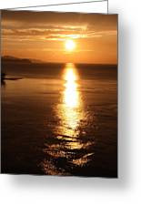 Evenings End Greeting Card