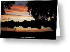 Evenings On The Water  Greeting Card