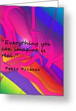 Everything You Imagine Greeting Card