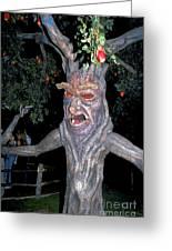 Evil Tree In Oz Greeting Card