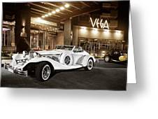 Excalibur Series Iv Roadster Color Version Greeting Card