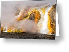 Excelsior Geyser Greeting Card