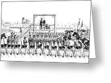 Execution Of John Brown, American Greeting Card