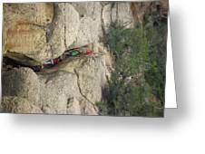 Exiting Cliff Palace Greeting Card