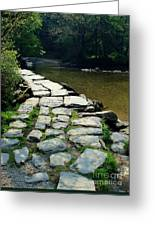 Exmoor National Park Crossing Bridge Greeting Card