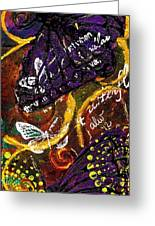 Exotic Butterflies I Greeting Card