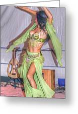 Exotic Dancer Greeting Card