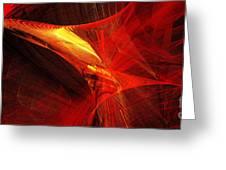 Explosive Dance Greeting Card