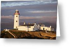 Exterior Of Fanad Lighthouse Fanad Greeting Card