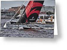 Extreme 40 Team Alinghi 2 Greeting Card