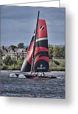 Extreme 40 Team Alinghi Greeting Card