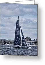 Extreme 40 Team Groupe Edmond De Rothschild Greeting Card
