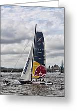 Extreme 40 Team Red Bull Greeting Card