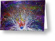 Eye Eruption Greeting Card by Pretchill Smith