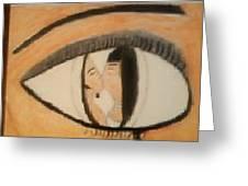 Eye Use To Love Him  Greeting Card