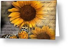 Eyes On Fall Greeting Card