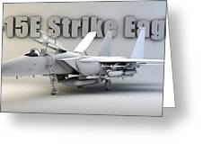 F-15e Strike Eagle Greeting Card