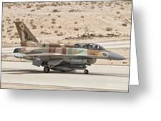F-16i Sufa Fighting Falcon Greeting Card