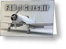 F4u-1 Corsair Greeting Card