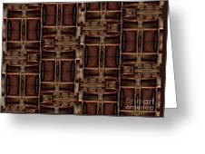 Fabric 121 Greeting Card