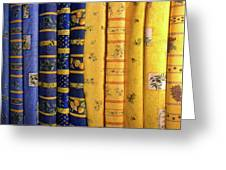 Fabrics From Provence Greeting Card