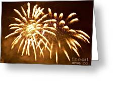Fabulous Fireworks Greeting Card