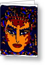 Face Greeting Card