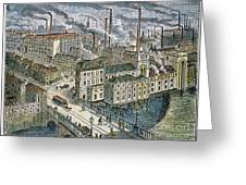Factories: England, 1879 Greeting Card