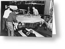 Factory: Chevrolet, 1960s Greeting Card