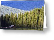 Fade To Blue Greeting Card