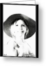 Faded Photograph Greeting Card