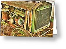 Fageol Tractor 2 Greeting Card