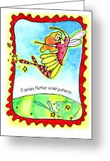 Fairies Flutter Everywhere Greeting Card