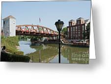 Fairport Lift Bridge Greeting Card