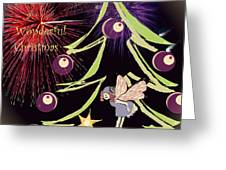 Fairy Christmas Greeting Card