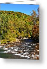 Fall Along Elk River Greeting Card