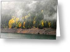 Fall At The Lake 2 Greeting Card