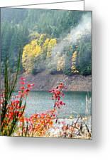 Fall At The Lake Greeting Card