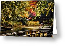 Fall At Tyler State Park Greeting Card