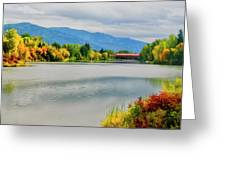 Fall Color At Sand Creek Greeting Card