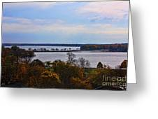 Fall Colors In Madison Greeting Card