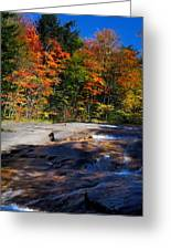 Fall Falls Greeting Card