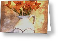 Fall Flowers For You Greeting Card