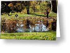 Fall Frogging Got One Greeting Card