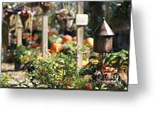 Fall Garden Greeting Card
