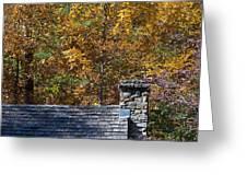 Fall House In Carolina Greeting Card