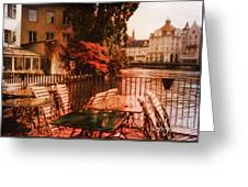 Fall In Lucerne Switzerland Greeting Card