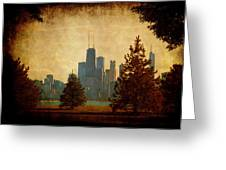 Fall In The City Greeting Card